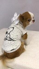 Felpa per cani Snoopy