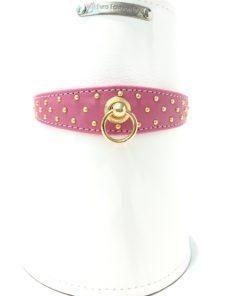 Collare per cane ovale rosa