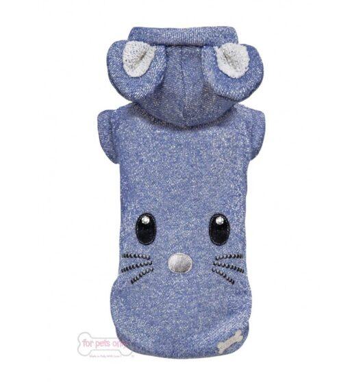 Felpa My tomopio azzurra