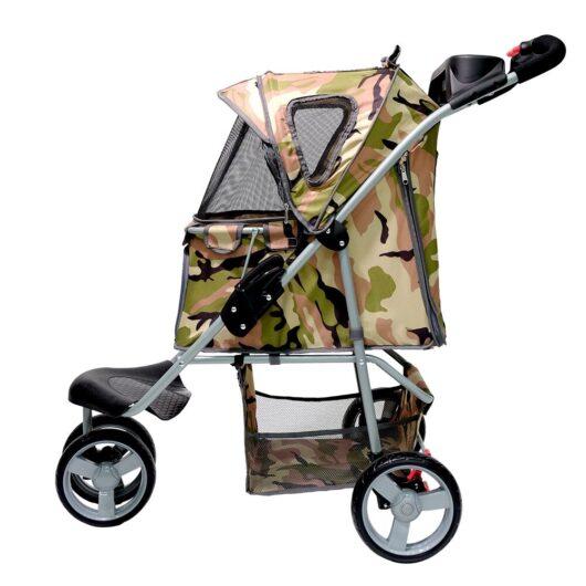 Passeggino cani Camouflage