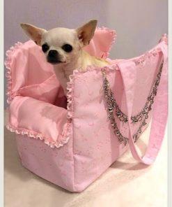 Borsa per cani lovely rosa