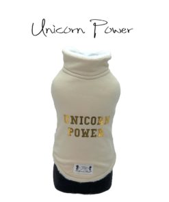 Felpa cani Unicorn Power