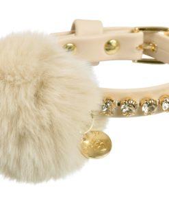 Collare cani Bijoux beige