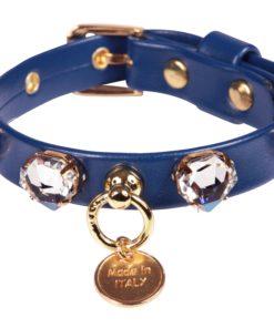 Collare cani Diamond Diamond Blu Cobalto