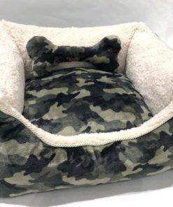 Cuccia Camouflage pelliccia